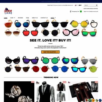 4a72a211c8 lootlane.com at WI. Loot Lane - Cool Sunglasses 2018