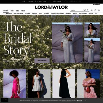 4484c2157 lordandtaylor.com at WI. Lord + Taylor  Designer Clothing