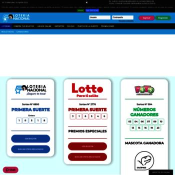 Loteria.com.ec thumbnail