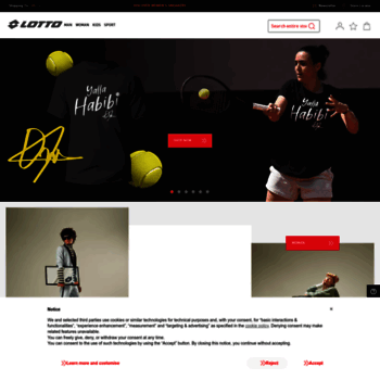 ae581762 lotto.it at WI. Lotto Sport Italia - Footwear, clothing and ...