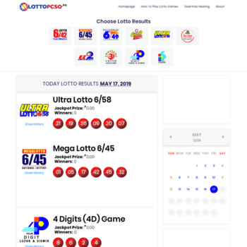 Lottopcso.ph thumbnail