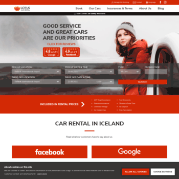 Lotuscarrental Is At Wi Get An Affordable Car Rental In Iceland