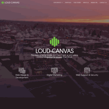 loudcanvas com at WI  Dover/Somersworth NH & Burlington VT