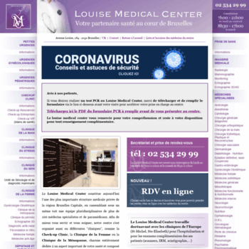 Louise-medicalcenter.be thumbnail