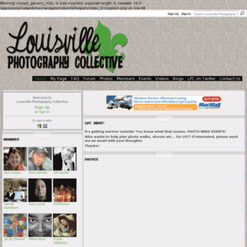 Louisvillephoto.org thumbnail