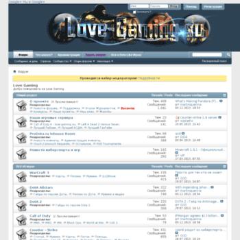 Love-gaming.su thumbnail