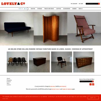 Lovelyandco.co.uk thumbnail