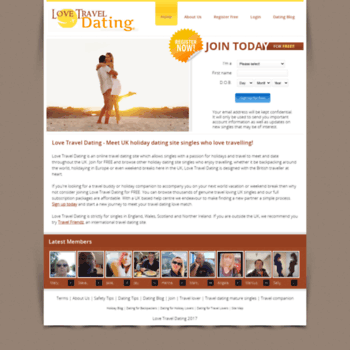 traveling dating site
