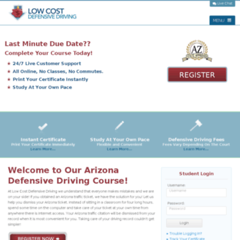 photo regarding Defensive Driving Course Online With Printable Certificate identified as at WI. Minimal Expense Arizona Top