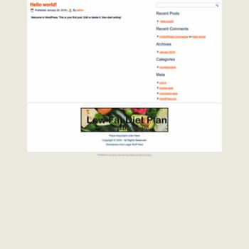 Lowfatdietplan.org thumbnail