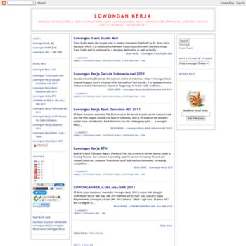 Lowongan-kerja-resume.blogspot.com thumbnail