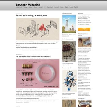 Lowtech.be thumbnail