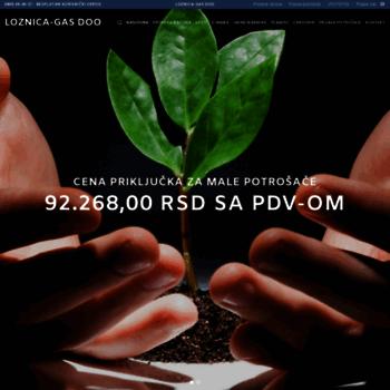 Loznica-gas.rs thumbnail