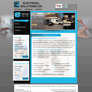 Lpelectricalsolutions.co.uk thumbnail