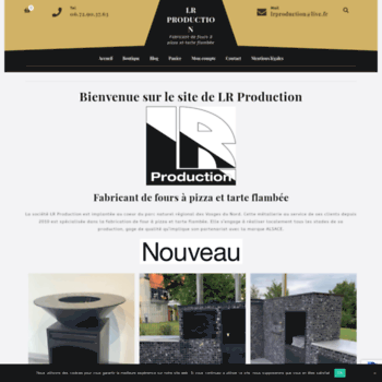 Lrproduction67.fr thumbnail
