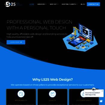 Ls25webdesign.co.uk thumbnail