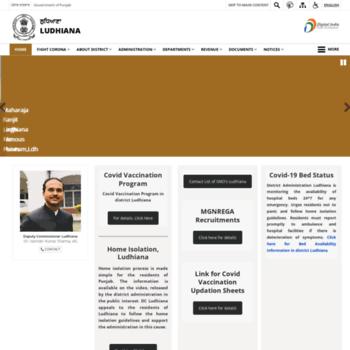 Ludhiana.gov.in thumbnail