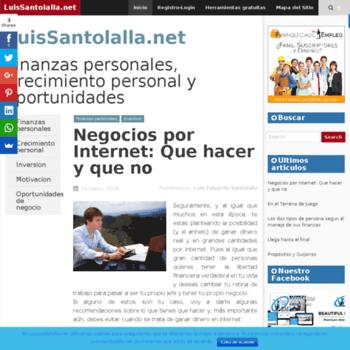 Luissantolalla.net thumbnail