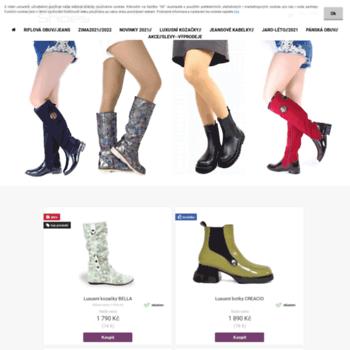 Lukanex-shoes.cz thumbnail