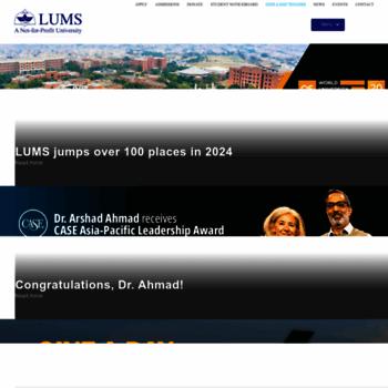 Lums.edu.pk thumbnail