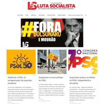 Lutasocialista.com.br thumbnail