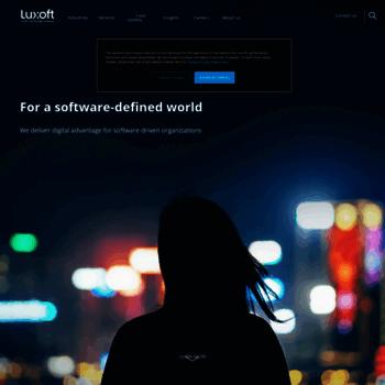 Luxoft.com thumbnail