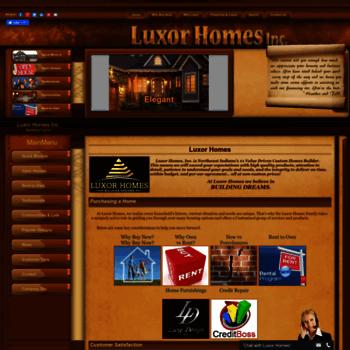 Luxorhomes.net thumbnail