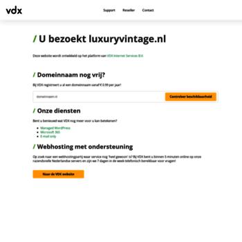 Luxuryvintage.nl thumbnail