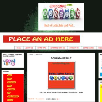 lwocblog com at WI  BABA IJEBU GAMES AND LOTTO RESULTS