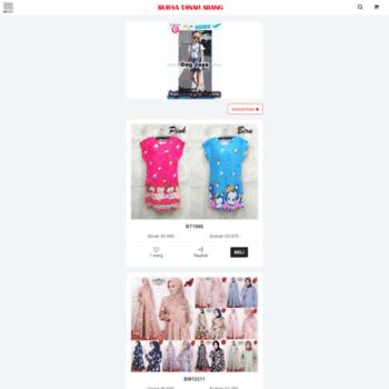 m.bursatanahabang.com at WI. Bursa Tanah Abang Grosir Baju Murah ... a6b16274ff