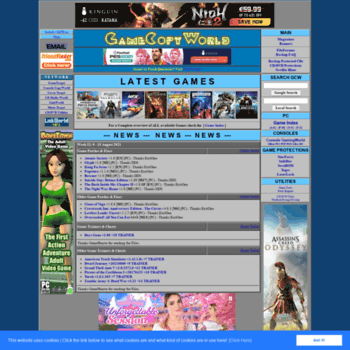m0003 gamecopyworld com at WI  PC Game Trainers, Cheats No