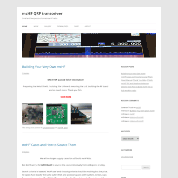 m0nka co uk at WI  mcHF QRP transceiver | Small and inexpensive