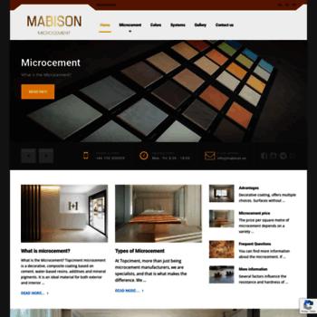 Mabison.se thumbnail