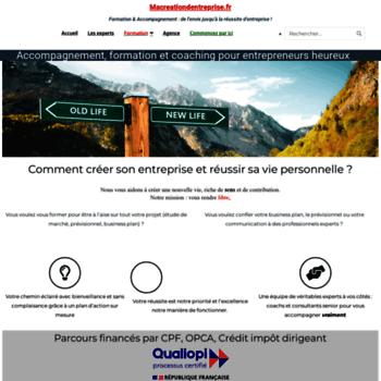 Macreationdentreprise.fr thumbnail
