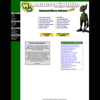 macrogoblin com at WI  MacroGoblin - FFXIV Bots, GW2 Bots, TSW Bots