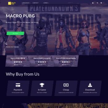 macropubg com at WI  Macro PUBG - NO Recoil Macro PUBG
