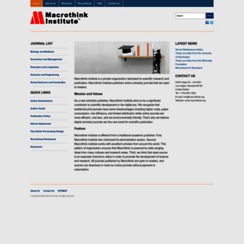 Macrothink.org thumbnail