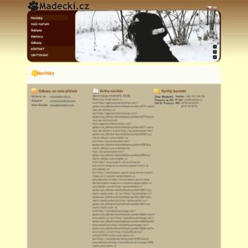 Madecki.cz thumbnail