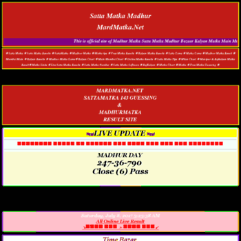 madhur-matka wap-ka com at Website Informer  Visit Madhur
