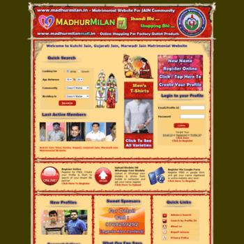 madhurmilan in at WI  Free Kutchi Visa, Dasha, Vagad Jain
