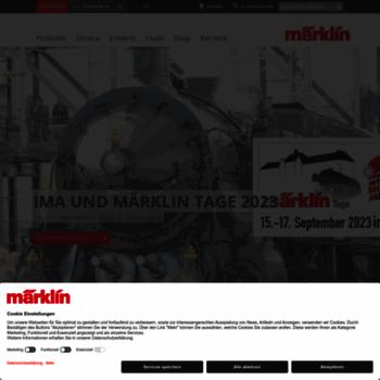 Maerklin.de thumbnail