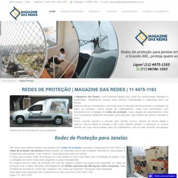 Magazinedasredes.com.br thumbnail