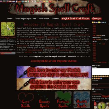 Magickspellcraft.com thumbnail