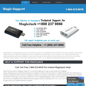 Magicsupport.net thumbnail