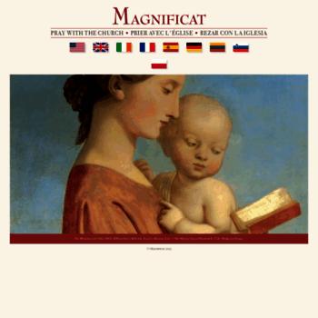 Magnificat.net thumbnail