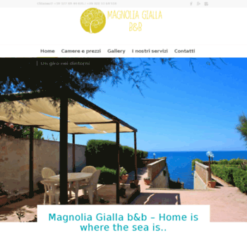 Magnoliagialla.it thumbnail