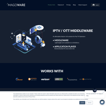 magoware tv at WI  MAGOWARE – Opensource Solution for IPTV / OTT