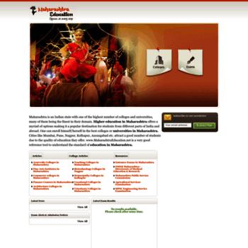 Maharashtraeducation.net thumbnail