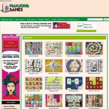 Mahjonggames.name thumbnail