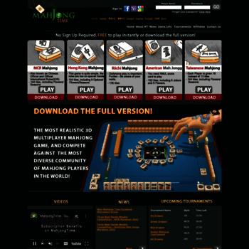 Mahjongtime.com thumbnail
